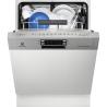 ELECTROLUX ESI 7620 RAX Kezelőszervig beépíthető mosogatógép inox kezelő