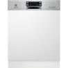 ELECTROLUX ESI 8550 ROX Kezelőszervig beépíthető mosogatógép inox kezelő