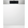 AEG ELECTROLUX FEE 83700 PM Kezelőszervig beépíthető mosogatógép metál kezelő (inox)