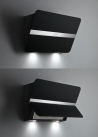 FALMEC FLIPPER 850/800 - fekete Kürtős páraelszívó