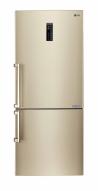 LG GBB548GVQZE Alulfagyasztós kombinált hűtő pezsgő arany ajtó front