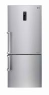 LG GBB548NSQFE Alulfagyasztós kombinált hűtő ragyogó acél ajtó front (inox)