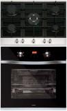 NODOR GCI 57 - DECOR 700 DT AC BK Beépíthető sütő üveg-gázfőzőlap szett fekete