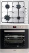 CATA GI 6004 X - LCMD 8008 X Beépíthető sütő gázfőzőlap szett fekete/inox