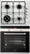 CATA GI 6031 X - CDP 780 AS BK Beépíthető sütő gázfőzőlap szett fekete/inox
