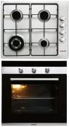 CATA GI 6031 X - CM 760 AS Beépíthető sütő gázfőzőlap szett fekete/inox