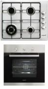CATA GI 6031 X - CME 6006 X Beépíthető sütő gázfőzőlap szett fekete/inox