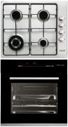 CATA GI 6031 X - HGR 110 AS BK Beépíthető sütő gázfőzőlap szett fekete/inox