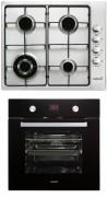 CATA GI 6031 X - MD 7009 BK Beépíthető sütő gázfőzőlap szett fekete/inox