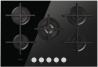 WHIRLPOOL GOA 7523/NB Beépíthető üveg-gázfőzőlap fekete üveg