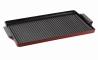 GORENJE GPCI 240 R Öntöttvas grill lap fekete/deep red/vörös