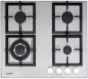 NODOR GXS 316 Beépíthető gázfőzőlap inox
