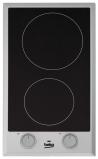 BEKO HDCC-32200X Beépíthető dominó üvegkerámia főzőlap fekete/inox