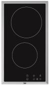 BEKO HDMC-32400TX Beépíthető dominó üvegkerámia főzőlap fekete