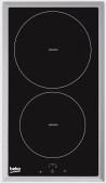 BEKO HDMI-32400 DTX Beépíthető dominó indukciós főzőlap fekete