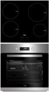 BEKO HII-64400AT - BIM-22301X Beépíthető sütő indukciós főzőlap szett
