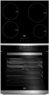 BEKO HII-64400AT - BIM-35400XMS Beépíthető sütő indukciós főzőlap szett