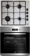 BEKO HIZG-64120SX - BIE-22300 X Beépíthető sütő gázfőzőlap szett