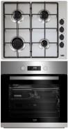 BEKO HIZG-64120SX - BIM-22301X Beépíthető sütő gázfőzőlap szett