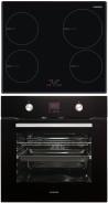 NODOR I 4060 BK - D 7008 DT BK Beépíthető sütő indukciós főzőlap szett fekete