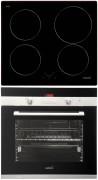 CATA I 604 B - CDP 780 AS BK Beépíthető sütő indukciós főzőlap szett fekete/inox