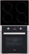 CATA I 604 B - LC 890 D BK Beépíthető sütő indukciós főzőlap szett fekete/inox