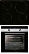 CATA IB 6104 BK - CD 760 AS BK Beépíthető sütő indukciós főzőlap szett fekete/inox