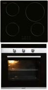 CATA IB 6104 BK - CM 760 AS Beépíthető sütő indukciós főzőlap szett fekete/inox