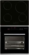 CATA IB 6104 BK - HGR 110 AS BK Beépíthető sütő indukciós főzőlap szett fekete/inox