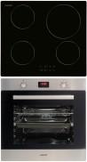 CATA IB 6104 BK - LCMD 8008 X Beépíthető sütő indukciós főzőlap szett fekete/inox