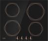 GORENJE IC 6 INB Rusztikus indukciós főzőlap fekete/antracit