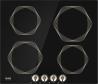 GORENJE IC 6 INI Rusztikus indukciós főzőlap fekete/bézs