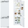 LIEBHERR ICBN 3376 Beépíthető kombinált hűtő fehér