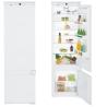 LIEBHERR ICS 3234 Beépíthető kombinált hűtő fehér