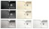 BLANCO IDESSA 5S Mosogatótálca fekete, aluszürke, kristályfehér, fehér, jasmin, vanília