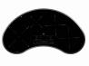 TEKA IRC 9430 KS Beépíthető vese alakú üvegkerámia főzőlap fekete