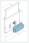 FALMEC KACL 784 T600 dual slim motor Páraelszívó motor
