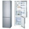 BOSCH KGE39BI40 Alulfagyasztós kombinált hűtő inoxlook ajtók, króm-inox oldalfalak