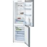 BOSCH KGN36NL3A Alulfagyasztós kombinált hűtő inoxlook ajtók, króm-inox oldalfalak
