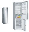 BOSCH KGN39AI35 Alulfagyasztós kombinált hűtő nemesacél ajtók, króm-inox oldalfalak