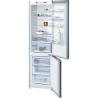 BOSCH KGN39VI45 Alulfagyasztós kombinált hűtő nemesacél ajtók, króm-inox oldalfalak