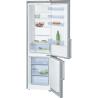 BOSCH KGV39UL30 Alulfagyasztós kombinált hűtő inoxlook ajtók, króm-inox oldalfalak