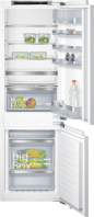 SIEMENS KI86NAF30 Beépíthető kombinált hűtő