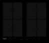 HOTPOINT ARISTON KIU 642 F B Beépíthető indukciós főzőlap