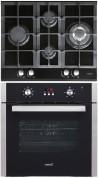 CATA LCI 631 A BK - LC 890 D BK Beépíthető sütő üveg-gázfőzőlap szett fekete/inox