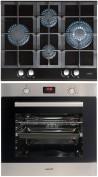 CATA LCI 631 A BK - LCMD 8008 X Beépíthető sütő üveg-gázfőzőlap szett fekete/inox