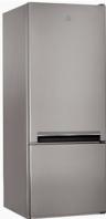 INDESIT LI6 S1 X Alulfagyasztós kombinált hűtő inox