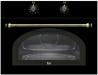 TEKA MWR 32 BI Antracit Rusztikus beépíthető mikrohullámú sütő Antracit, Sötétszürke