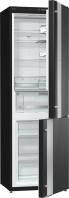 GORENJE NRK ORA 62 E Alulfagyasztós kombinált hűtő fekete