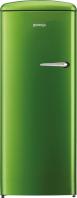 GORENJE ORB 152 GR-L Rusztikus egyajtós hűtőszekrény fagyasztóval lime zöld